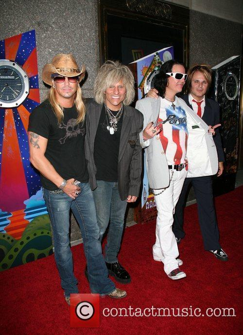 Bret Michaels, CC Deville, Bobby Dall and Rikki...