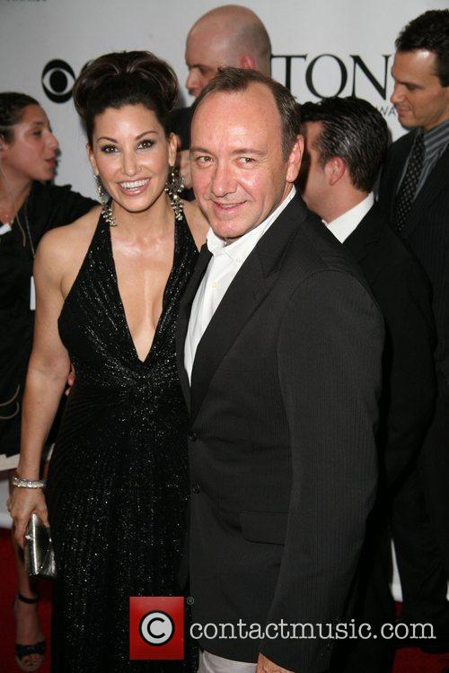 Gina Gershon and Kevin Spacey The 63rd Tony...
