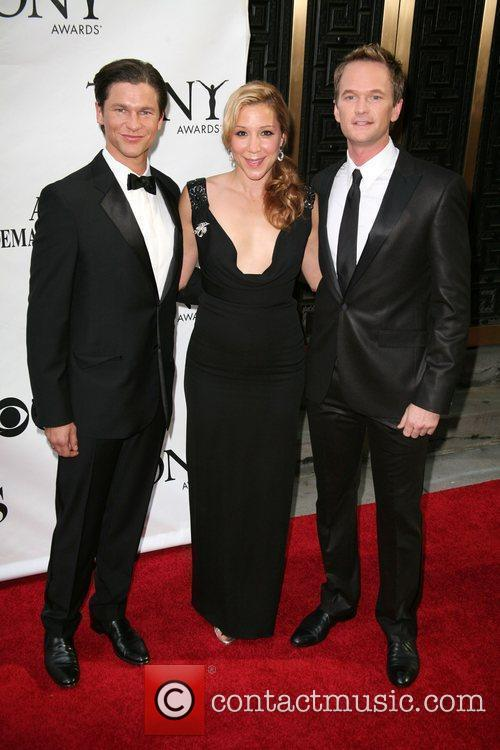 Neil Patrick Harris (r) and guests  The...