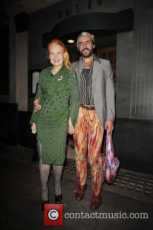 Vivienne Westwood and Andreas Kronthaler at the Topshop...