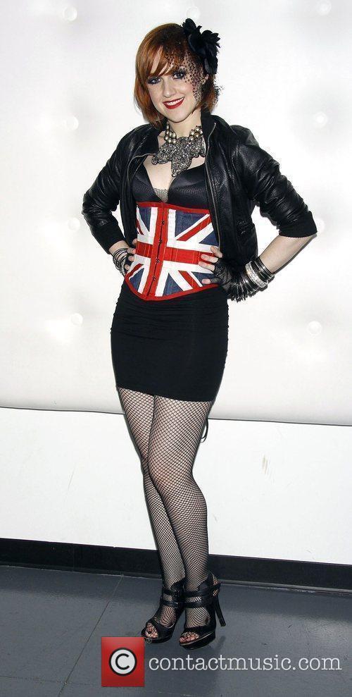 Celina Carvaja Backstage at 'The Toxic Avenger Musical'...