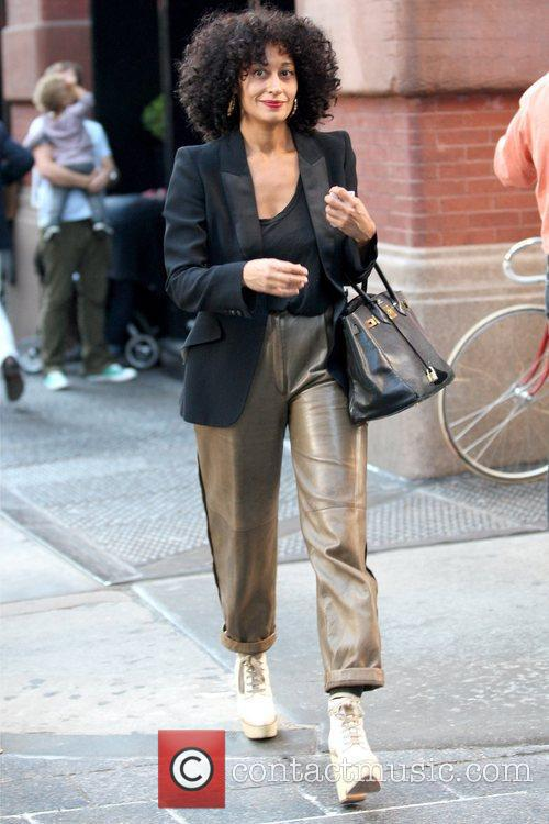 Former 'Girlfriends' star shopping in Manhattan