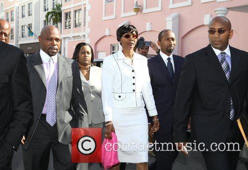 Former Bahamas Senator Pleasant Bridgewater and Paramedic Tarino...