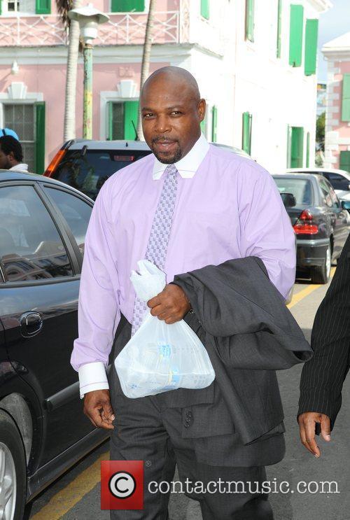 Paramedic, Tarino Lightbourne arrives in court on the...
