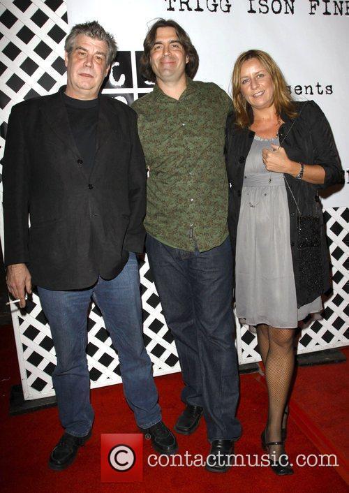 Chuck Connelly, Jeff Stimmel and wife Joanna Stimmel...