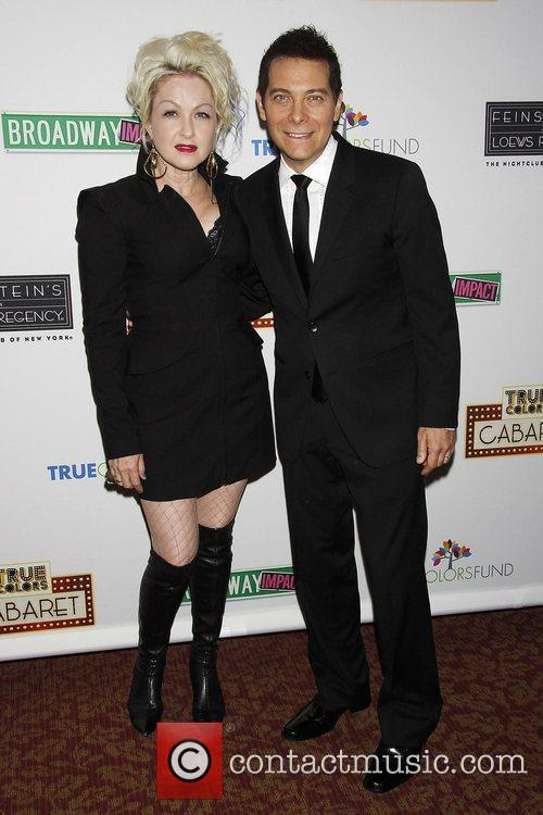 Cyndi Lauper and Michael Feinstein Photocall for 'True...