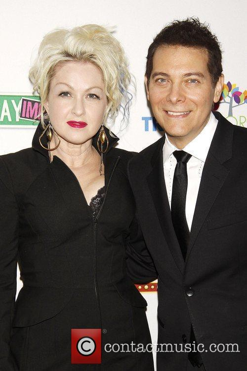 Cyndi Lauper and Michael Feinstein 8