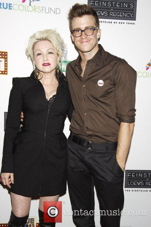 Cyndi Lauper and Gavin Creel Photocall for 'True...