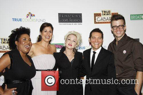 Melinda Doolittle, Cyndi Lauper and Michael Feinstein 10