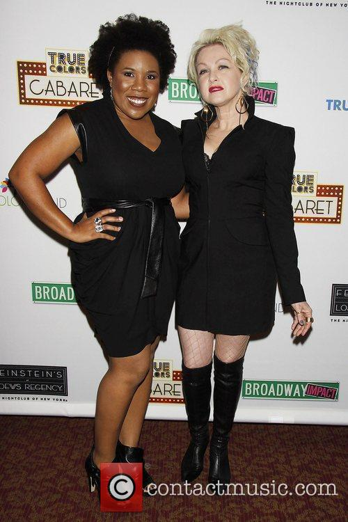 Melinda Doolittle and Cyndi Lauper 4