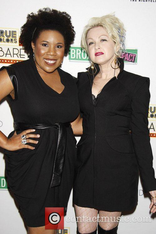 Melinda Doolittle and Cyndi Lauper 9