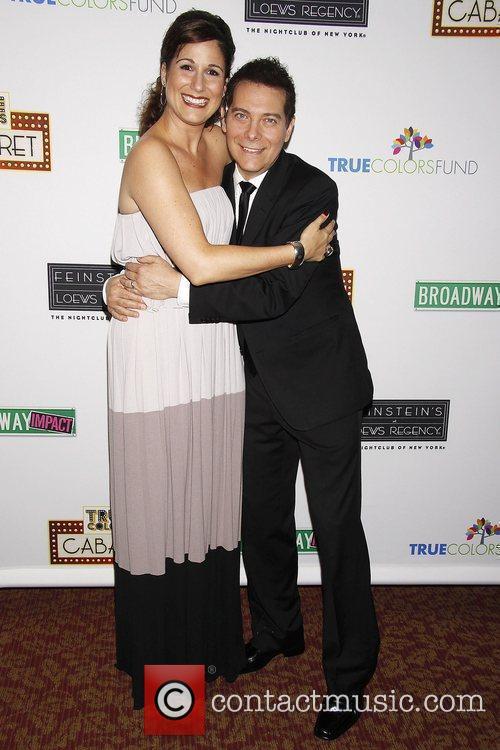 Stephanie J. Block and Michael Feinstein Photocall for...