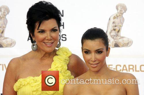 Kris Jenner and Kim Kardashian Monte Carlo Television...