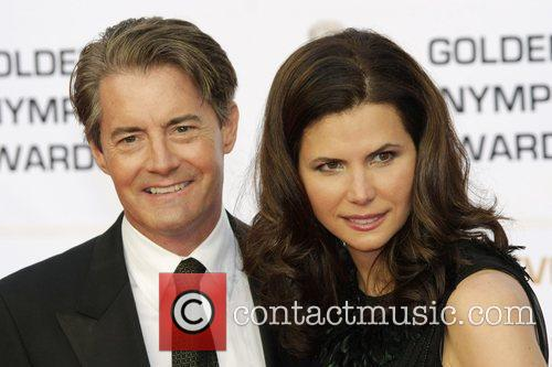 Kyle MacLachlan and his wife Monte Carlo Television...
