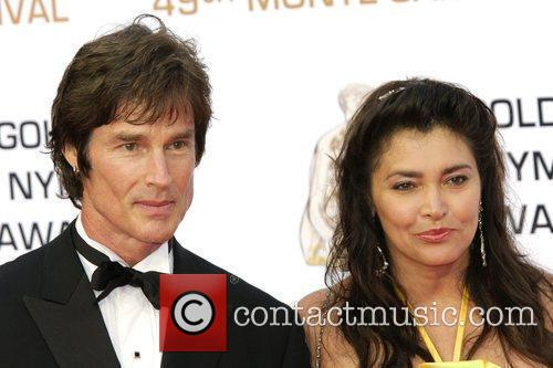 Ronn Moss and guest Monte Carlo Television Festival...