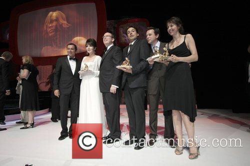 Isabelle Adjani and Prince Albert Of Monaco With Guests 1