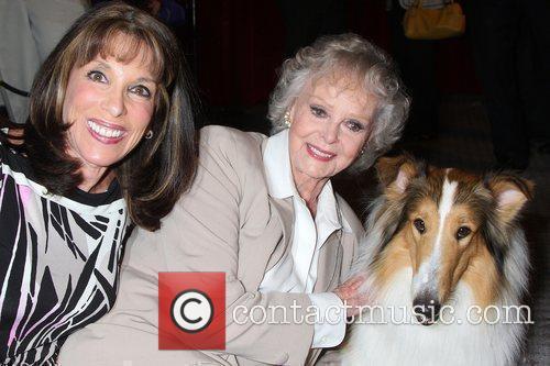 Kate Linder, June Lockhart and Lassie 2
