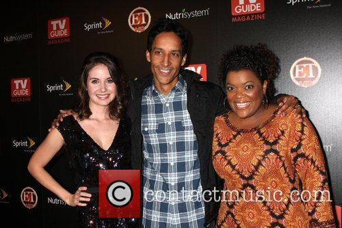 Allison Brie, Danny Pudi and Yvette Nicole Brown...