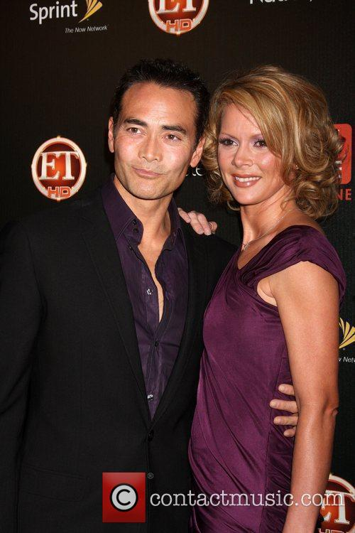 Mark Dacascos and Julie Condra