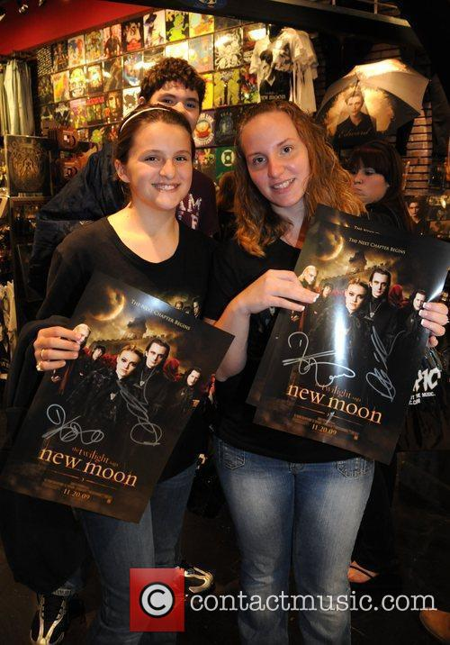 Fans Daniel Cudmore and Charlie Bewley meet and...