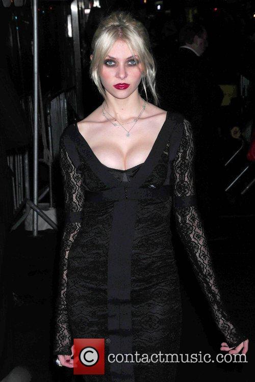 Taylor Momsen The Cinema Society & D&G screening...