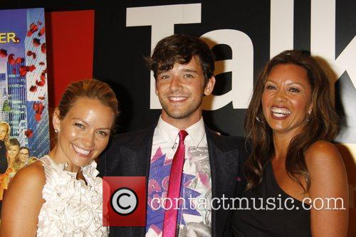 Becki Newton and Michael Urie 6