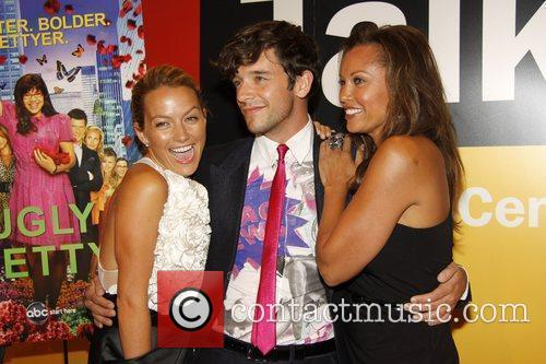 Becki Newton and Michael Urie 3