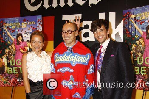 Becki Newton, Horacio Silva and Michael Urie 10