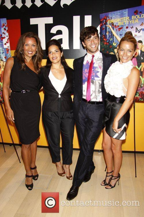 Vanessa Williams, America Ferrera and Michael Urie 7