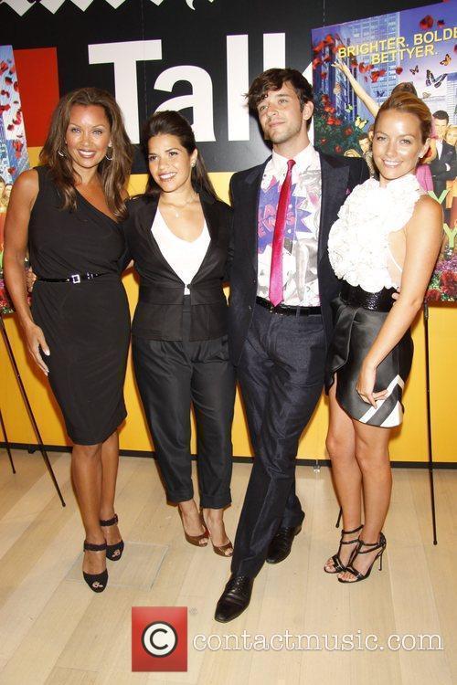 Vanessa Williams, America Ferrera and Michael Urie 3