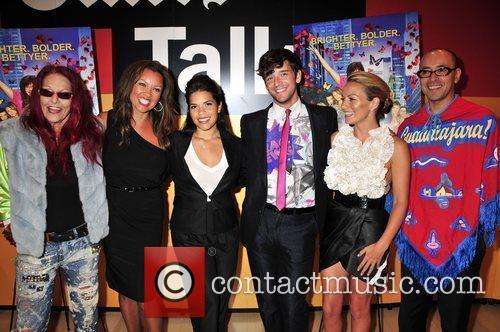 Patricia Field, America Ferrera, Becki Newton, Michael Urie and Vanessa Williams 5