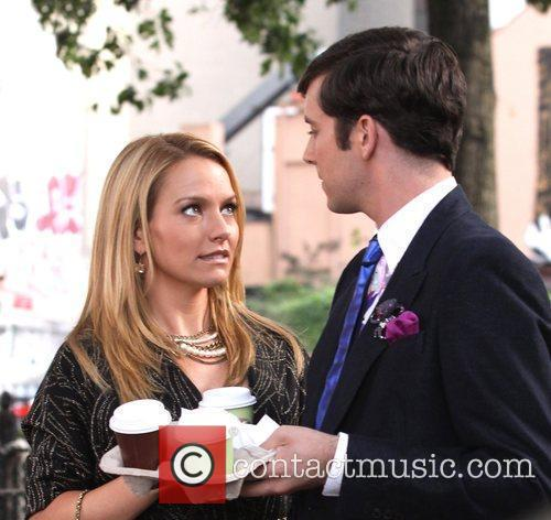 Becki Newton and Michael Urie 5