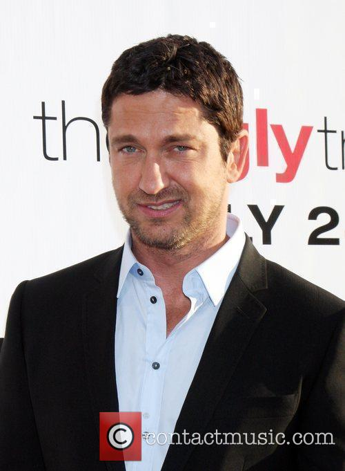 Gerard Butler and Arclight Theater 3