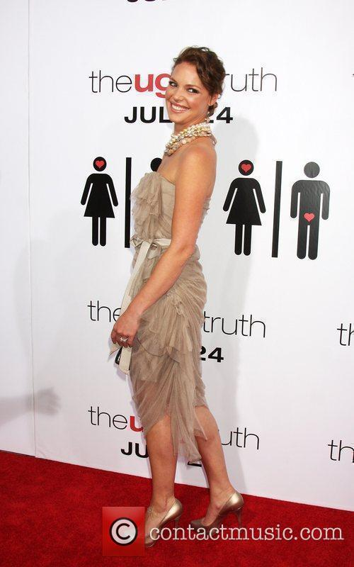Katherine Heigl The Ugly Truth Premiere at the...