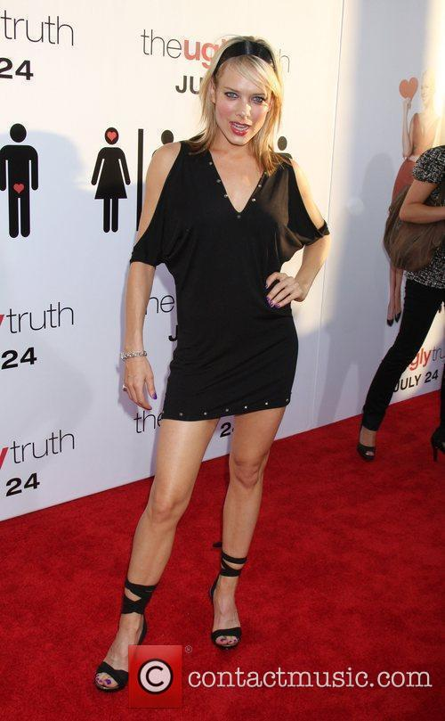 Nina Bergman The Ugly Truth Premiere at the...