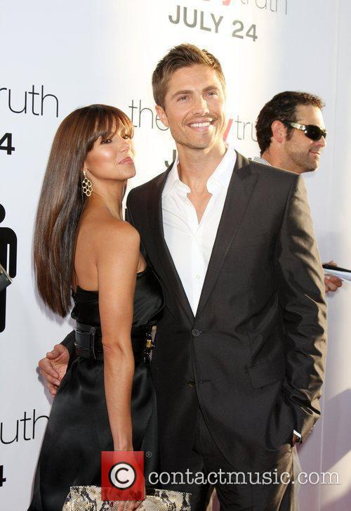 Roselyn Sanchez, Eric Winter and Arclight Theater 1