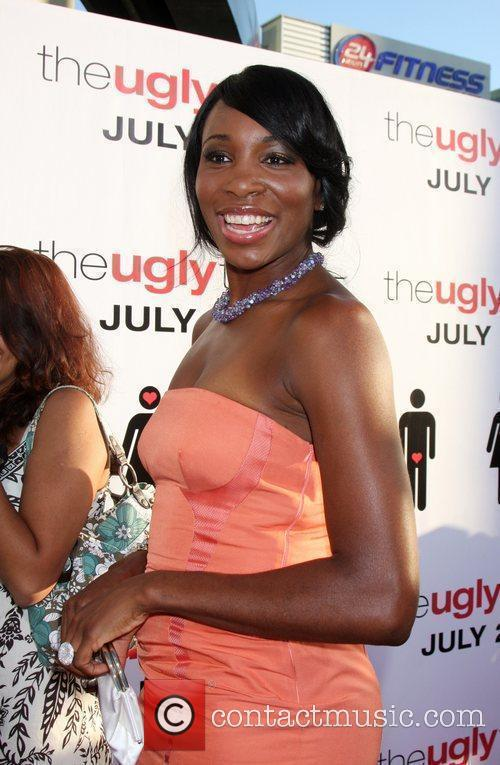 Venus Williams The Ugly Truth Premiere at the...