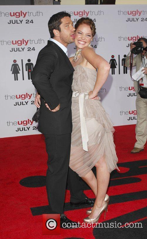Gerard Butler, Katherine Heigl and Arclight Theater 5