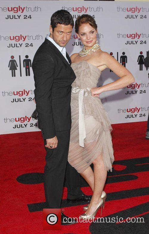 Gerard Butler, Katherine Heigl and Arclight Theater 10