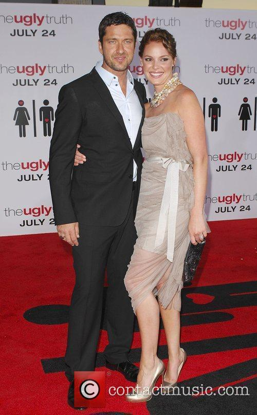Gerard Butler, Katherine Heigl and Arclight Theater 1