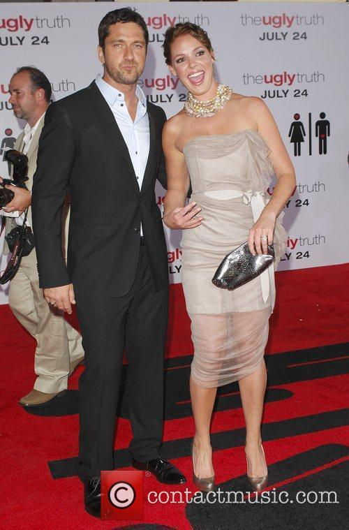 Gerard Butler, Katherine Heigl and Arclight Theater 8