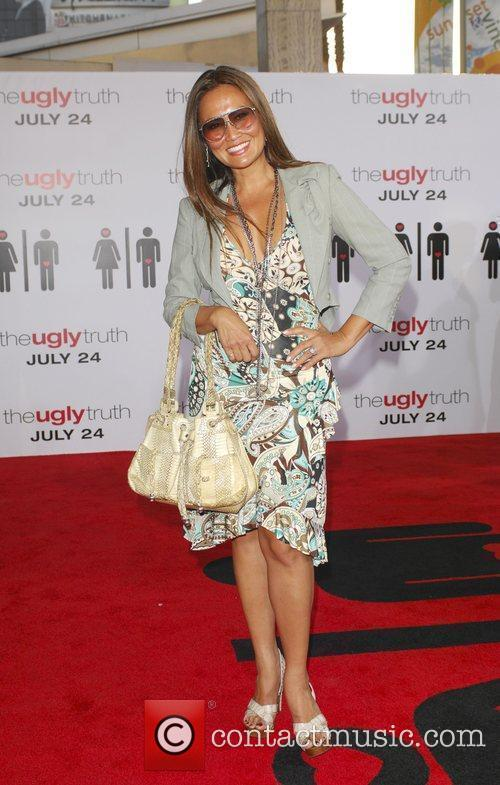 Tia Carrere The Ugly Truth Premiere at the...