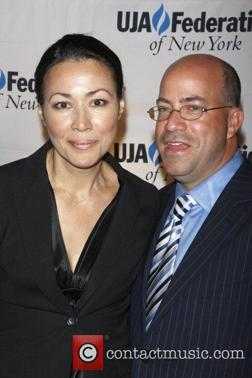 Ann Curry and Jeff Zucker UJA-Federation of New...