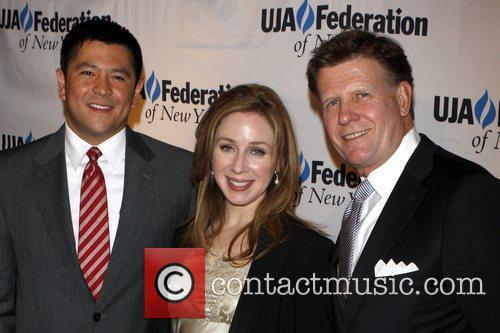 UJA-Federation of New York's Leadership awards dinner at...