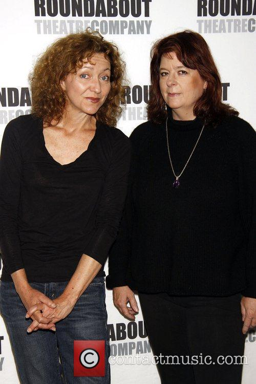 Julie White and Theresa Rebeck Photocall for the...