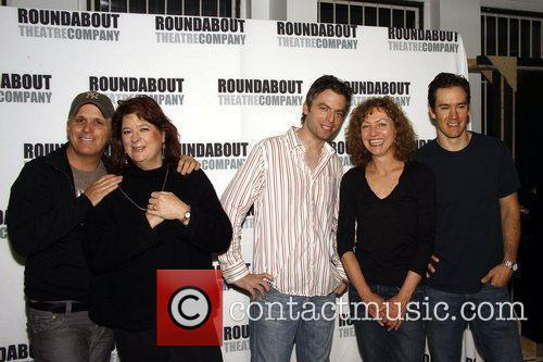 Photocall for the upcoming Off-Broadway play 'The Understudy'...