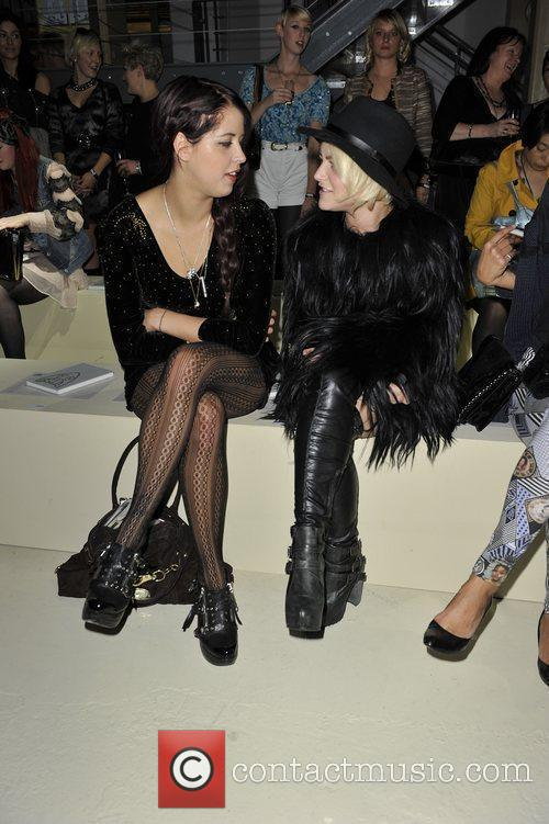 Peaches Geldof and Jaime Winstone 1