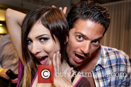Paty Cantu and Amir Agai Smirnoff Ice &...