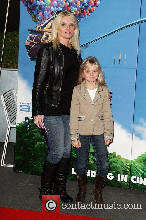 Danniella Westbrook and her daughter The UK Premiere...