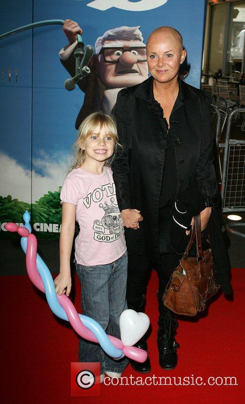 Gail Porter and her daughter The UK Premiere...